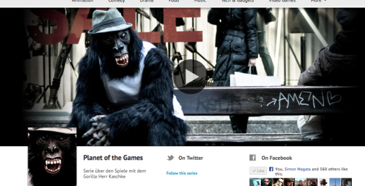 Planet of the Games bei Blip.tv, Youtube & Vimeo